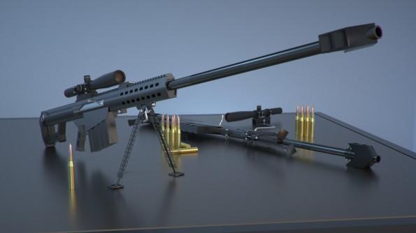More gun.
